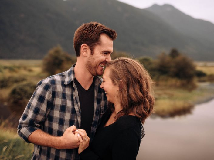 Kate Paterson Photography Pit Lake Fraser Valley BC Couples Photographer