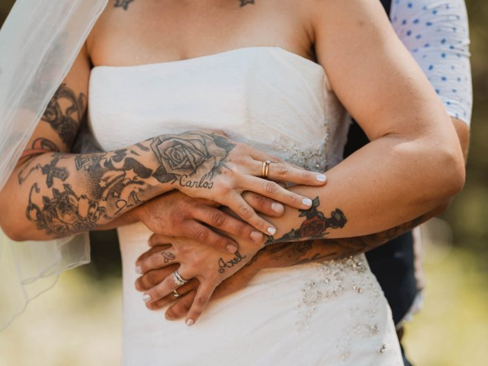 Intimate Backyard Wedding- Abbotsford