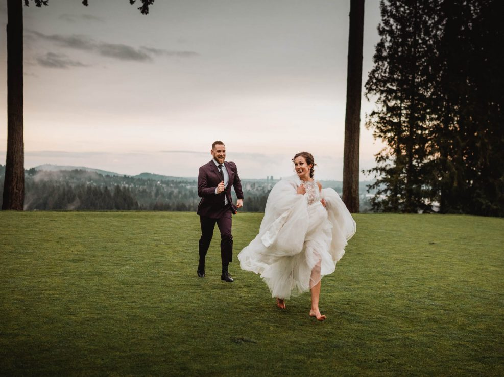 Wedding at Capilano Golf Club, West Vancouver